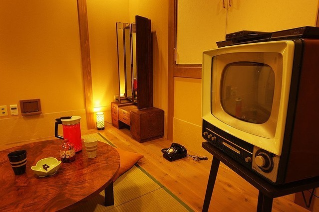 40-50s in Japan themed room Source: hotel us's official website
