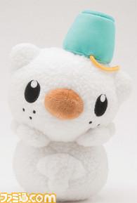Oshawott/Mijimaru snow man