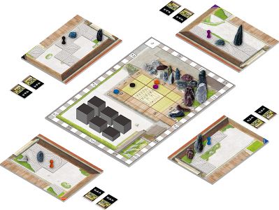 Japanese garden board game Source: New Games Order LLC