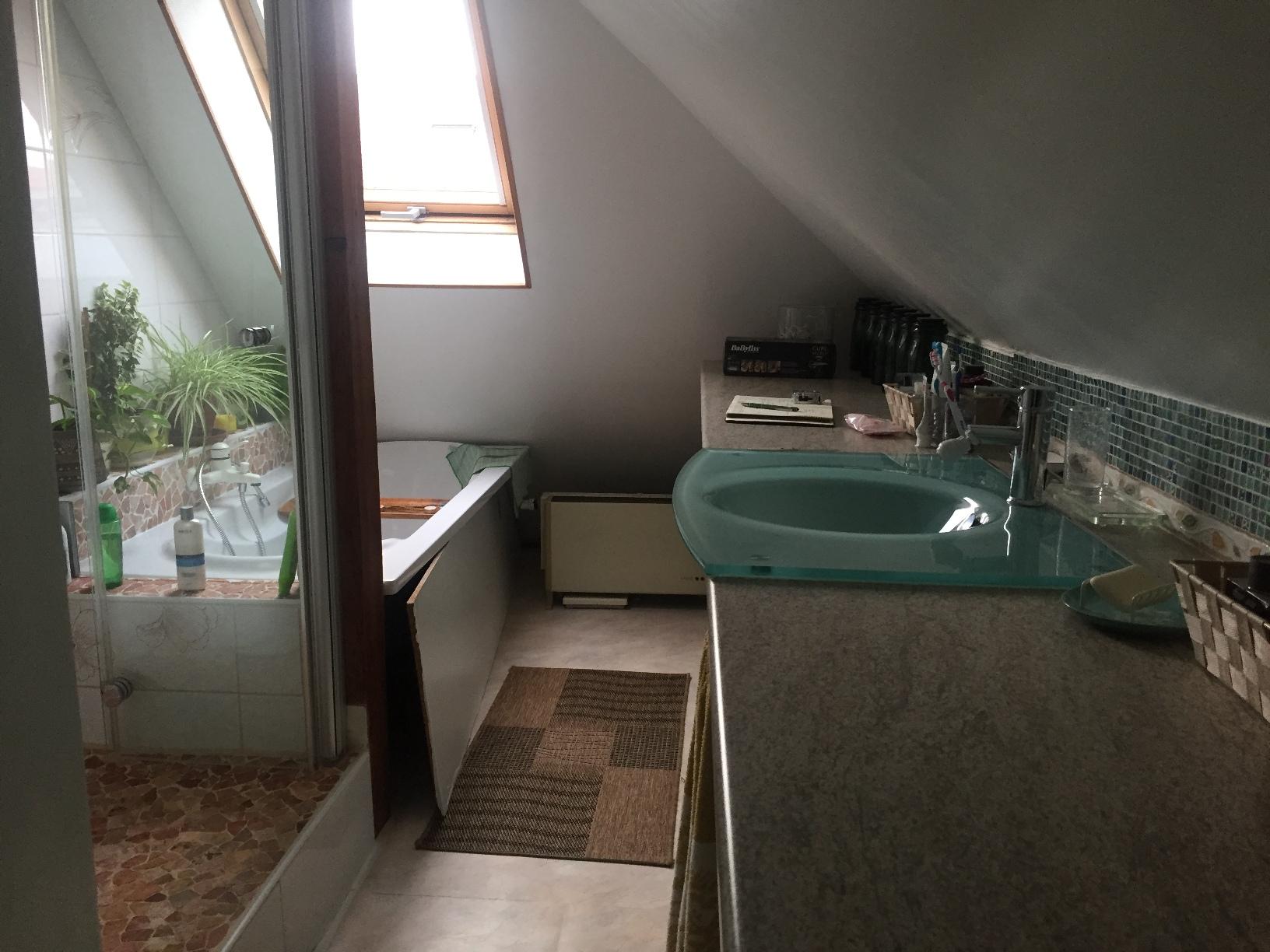 Rénovation d'une salle de bain sous les combles