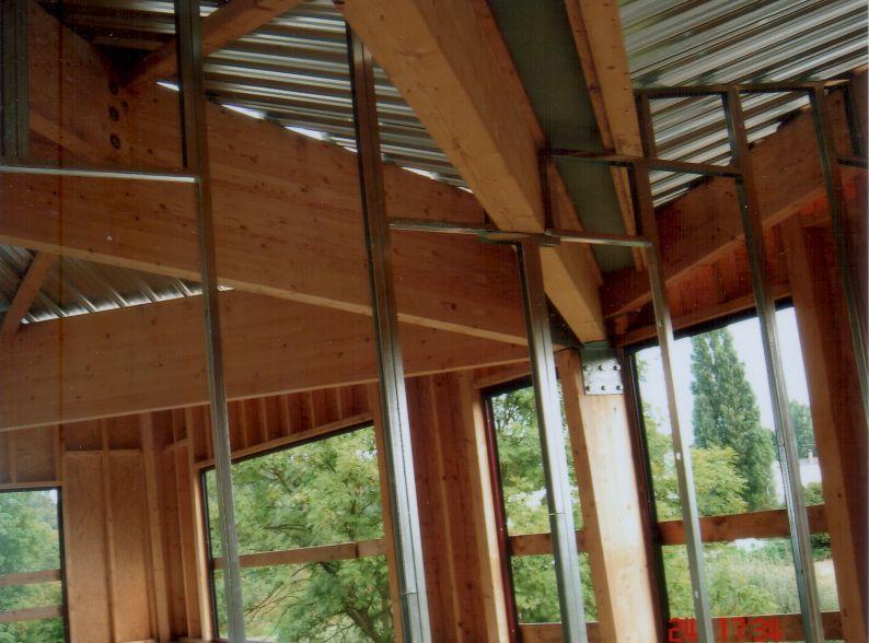 Pose d'une cloison Prégymétal avec laine de verre Illkirch-Graffenstaden  67 Activ Renovation