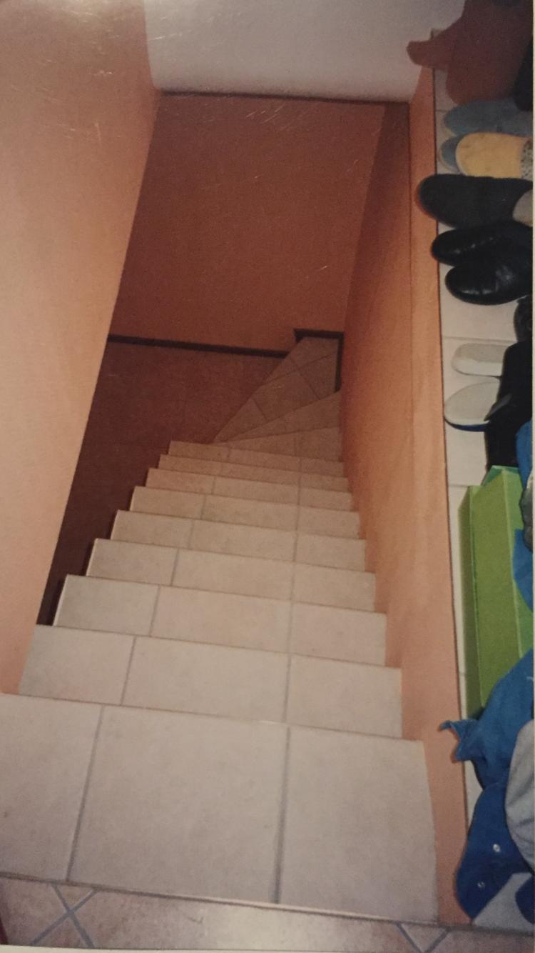 Après réaliser escalier quart tournant en béton recouvrement avec carrelage Illkirch-Graffenstaden 67