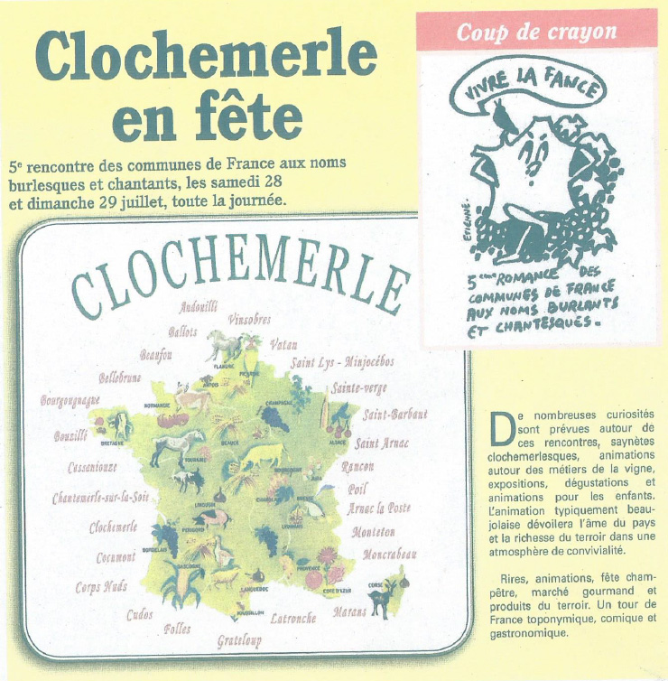 5e rassemblement - Clochemerle