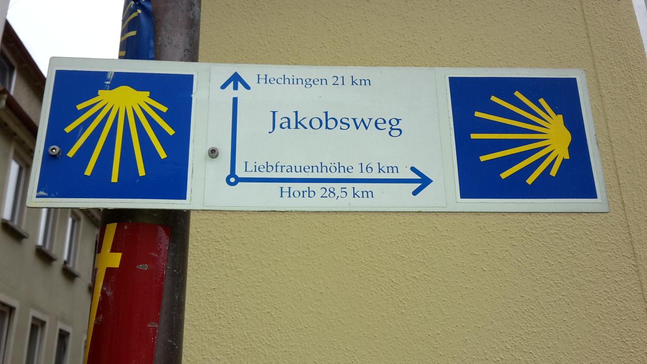 Tag 1: Von Rottenburg am Neckar nach Hechingen