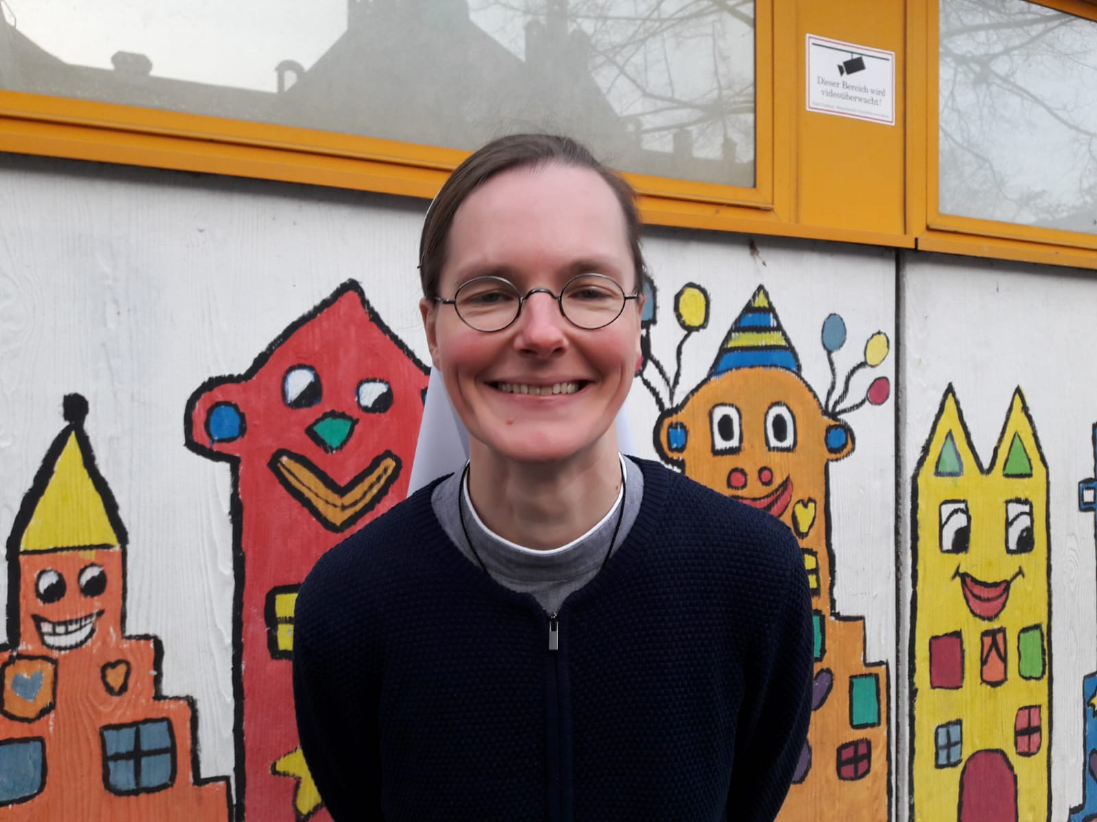 Schwester Alice ist Mitglied der Kommunität Christusbruderschaft und lebt im Kloster Selbitz.