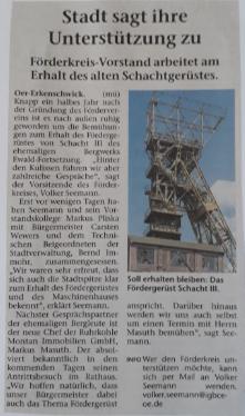 Stimberg Zeitung 5.6.2018