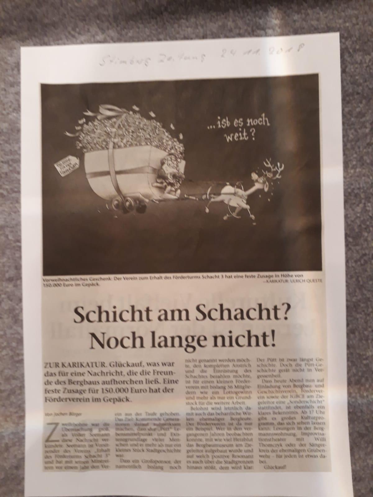 Stimberg Zeitung 24.11.2018