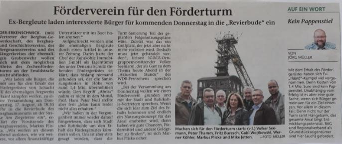 Stimberg Zeitung 14.08.2017