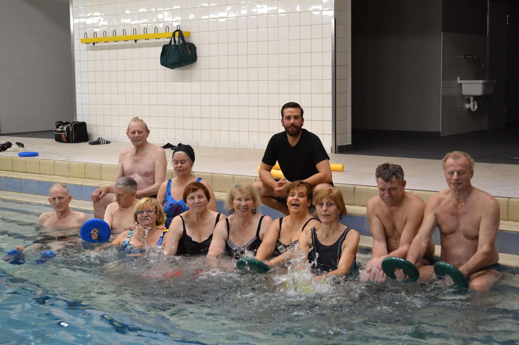 Wassergymnastik für alle Mitglieder