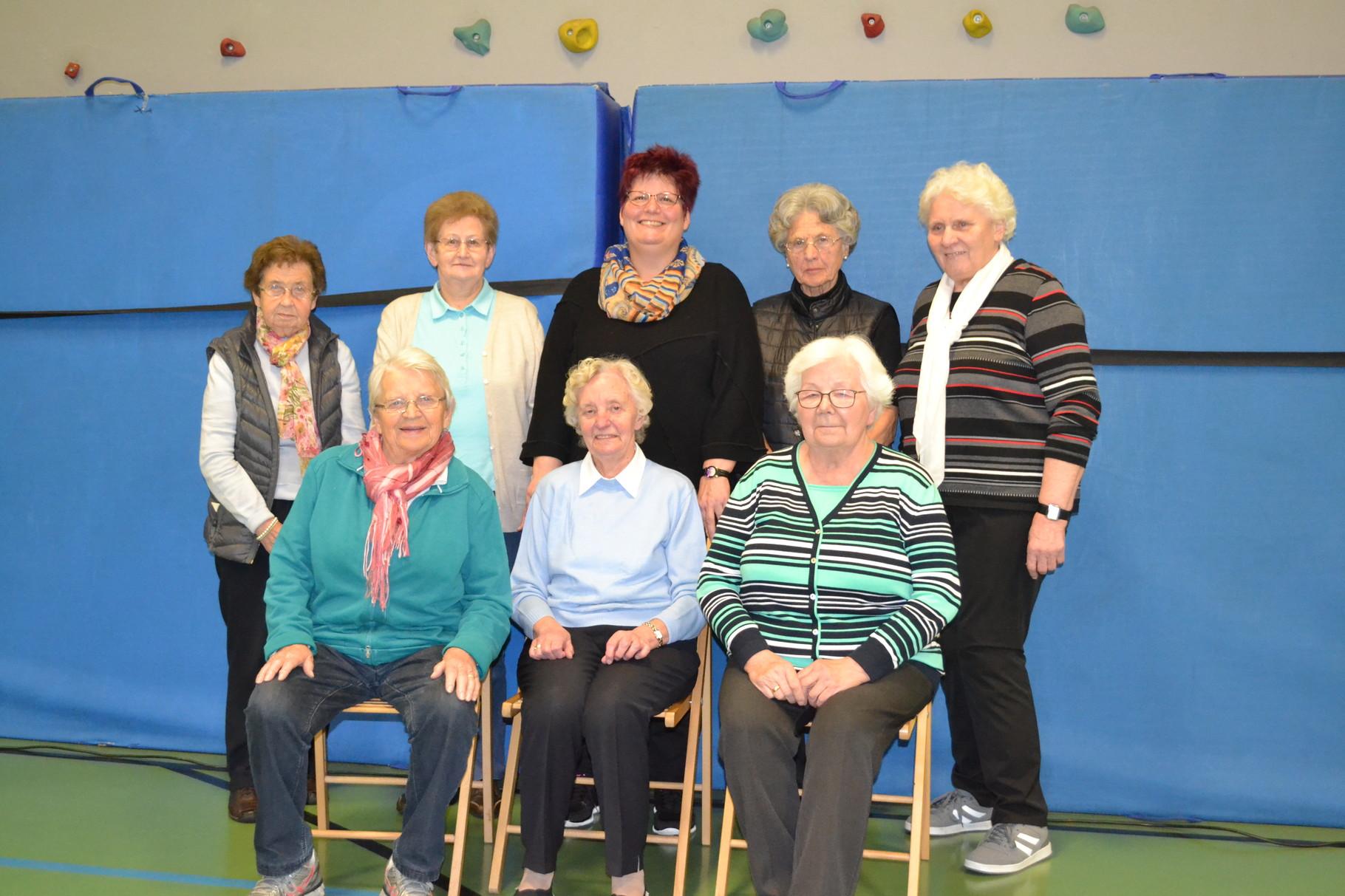 Gymnastik für Frauen und Seniorinnen