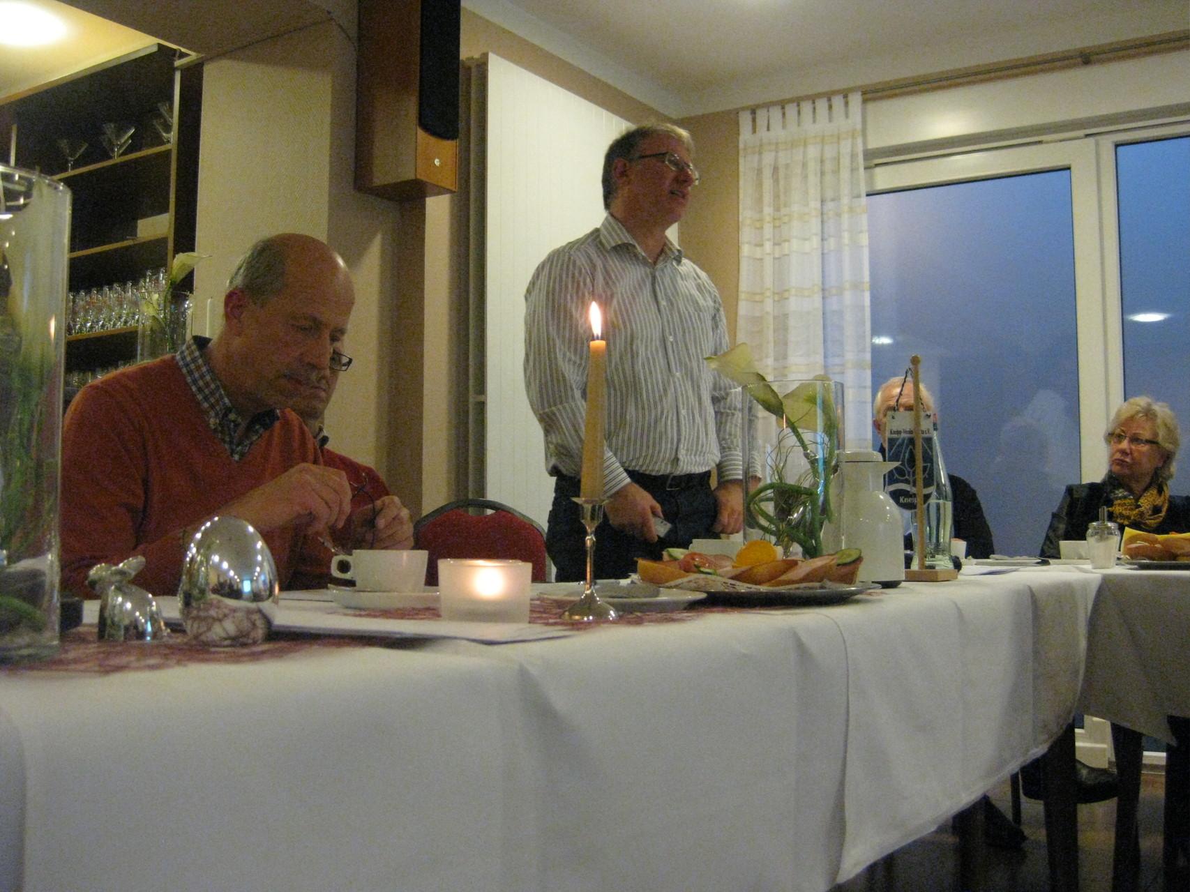 Jahreshauptversammlung 2014