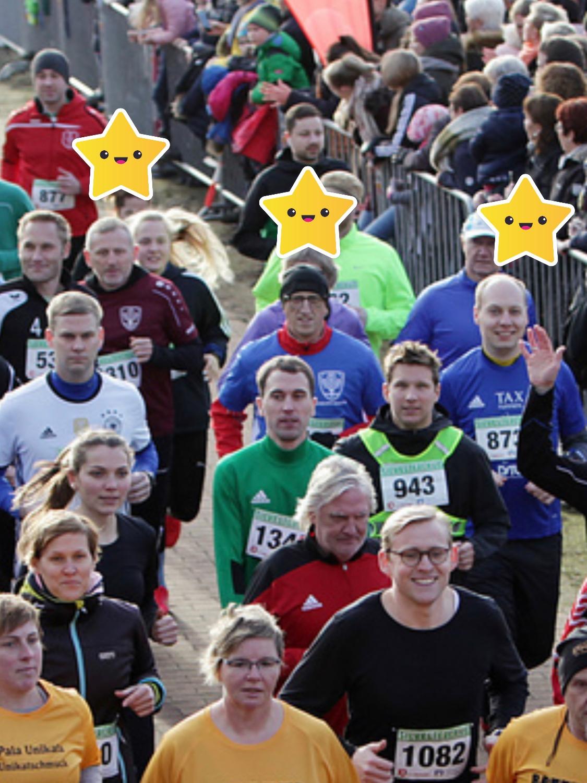 Kneippianer laufen sportlich in´s neue Jahr.....