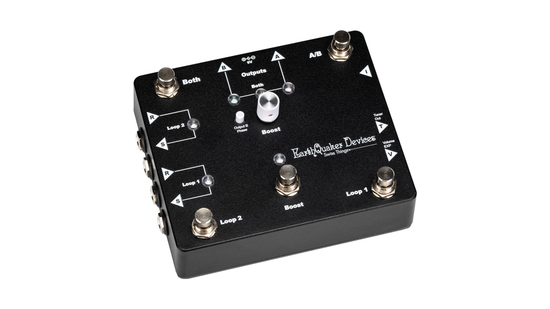 EarthQuaker Devices Swiss Things – Pedalboard Reconciler