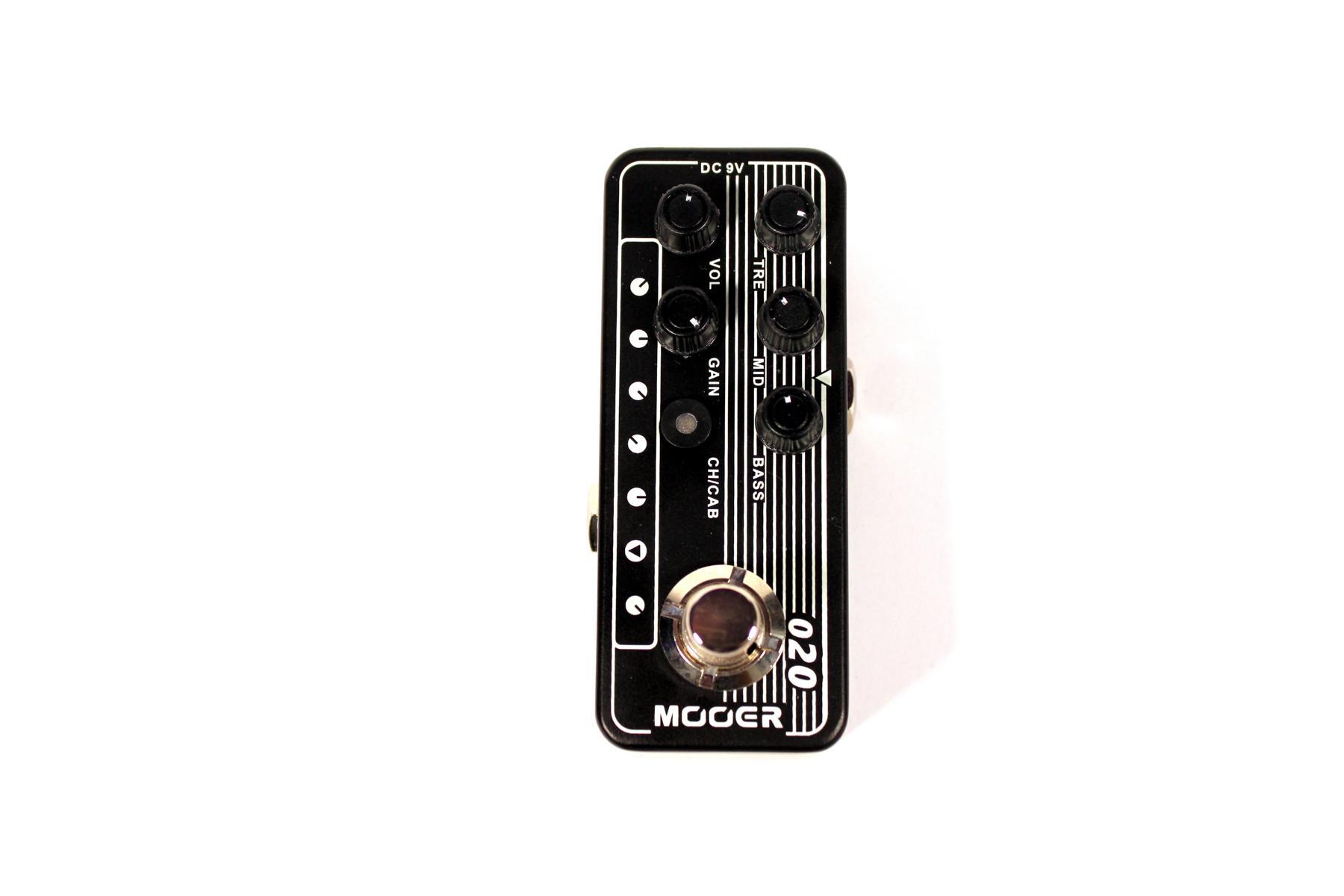 Mooer Micro Preamp 020 BLUENO