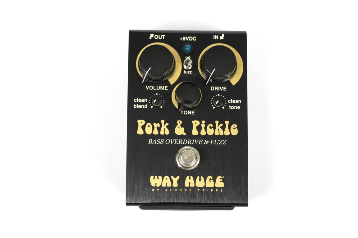 Way Huge Pork & Pickle Bass Overdrive / Fuzz