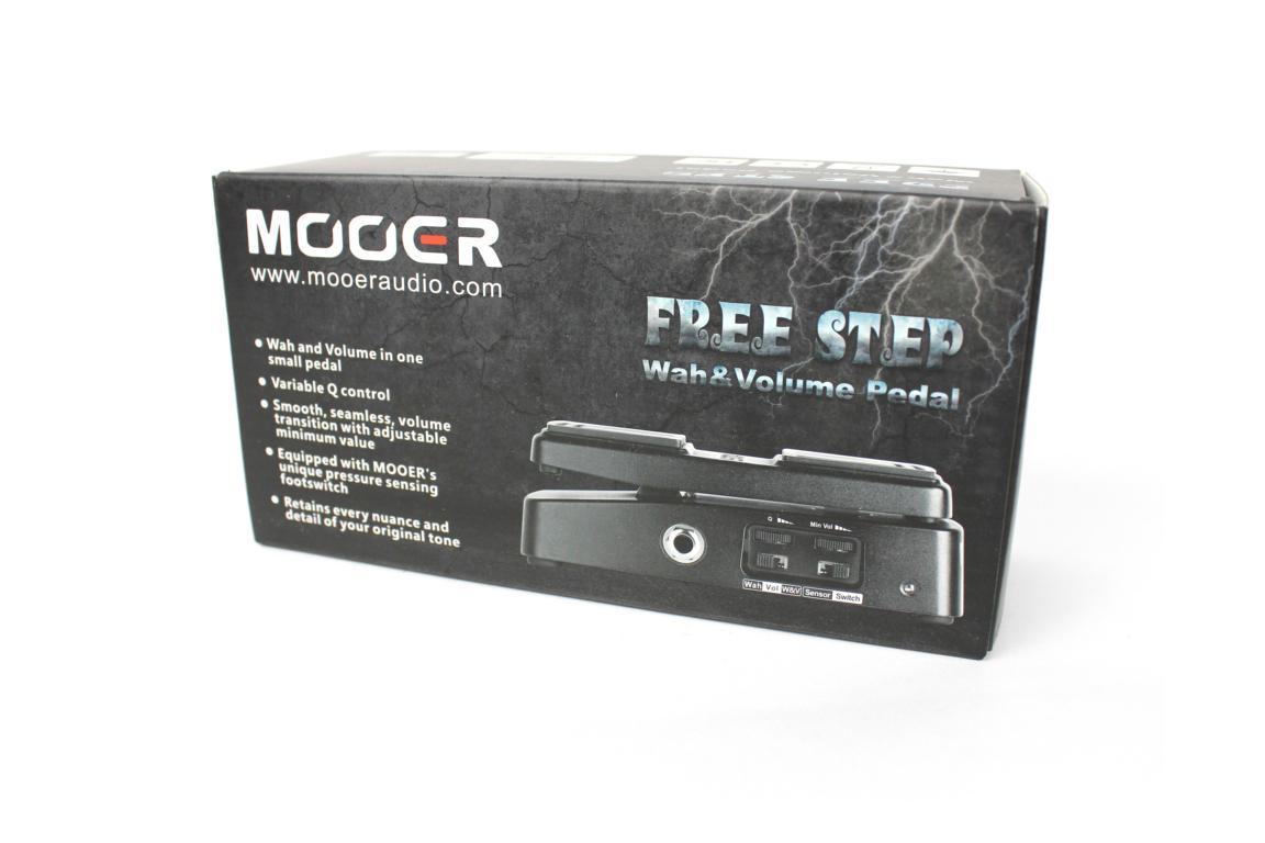 Mooer Free Step – Wah- & Volume-Pedal
