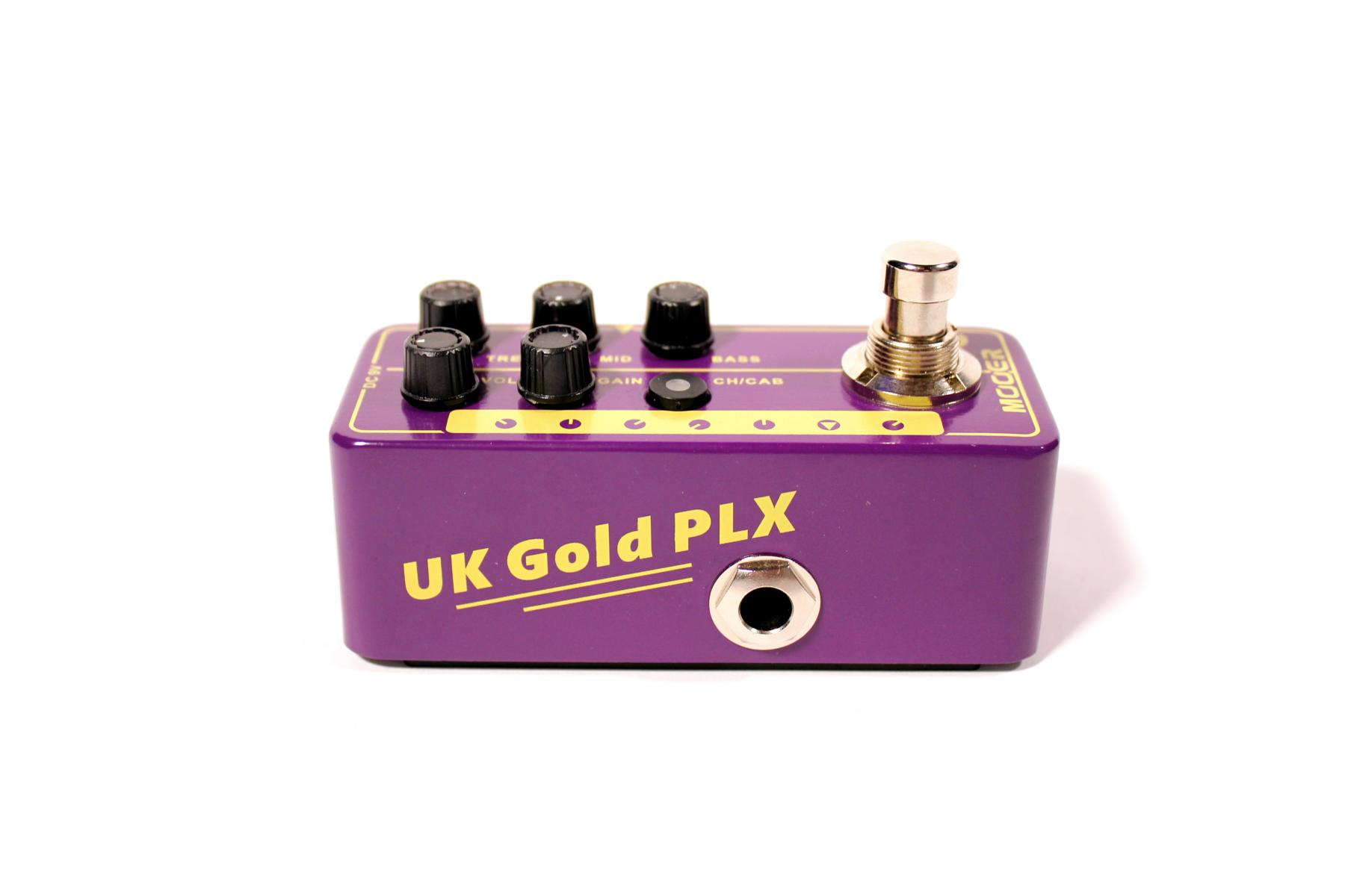 Mooer Micro Preamp 020 UK Gold PLX