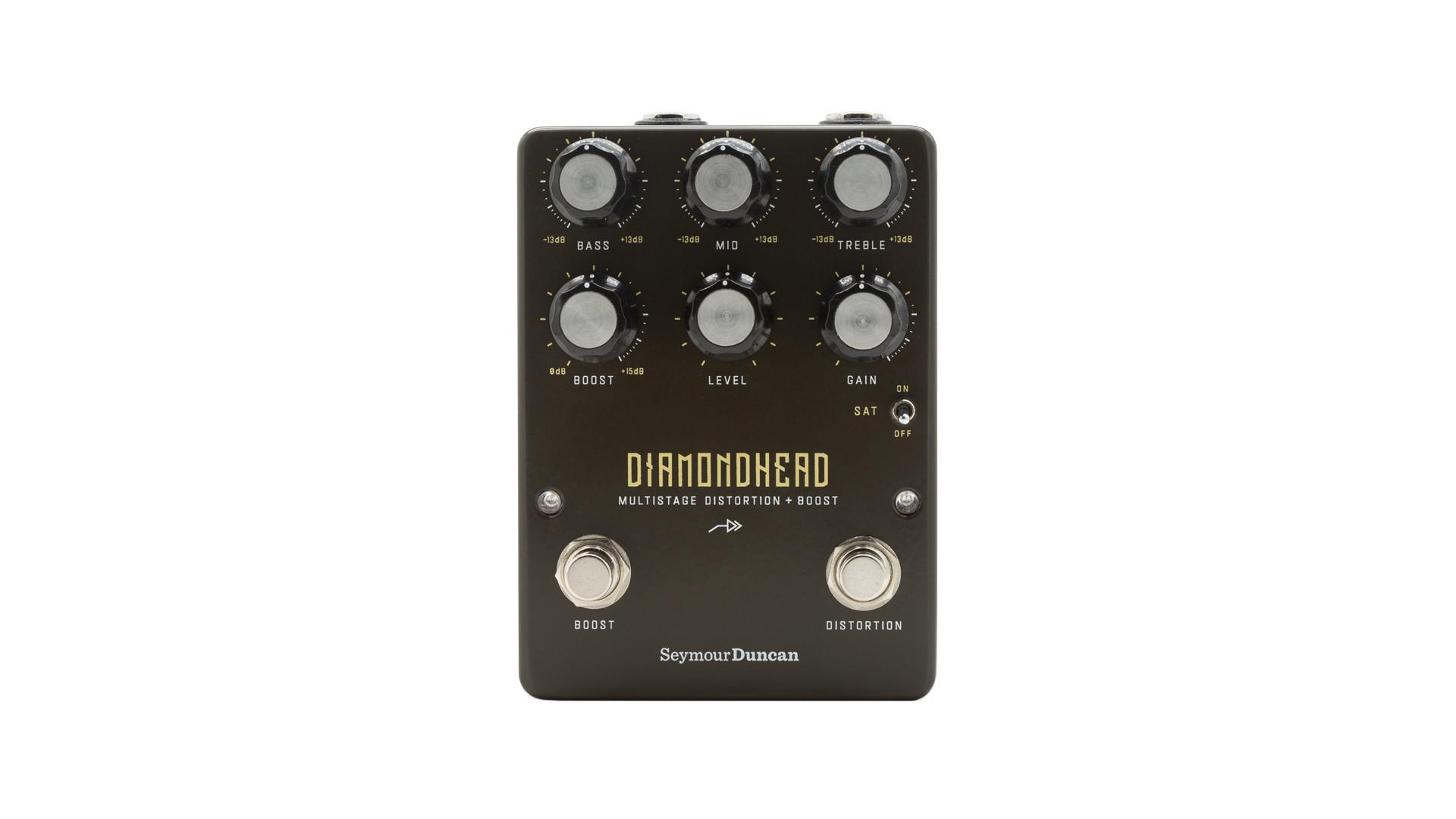Seymour Duncan Diamondhead Multistage Distortion & Boost Pedal