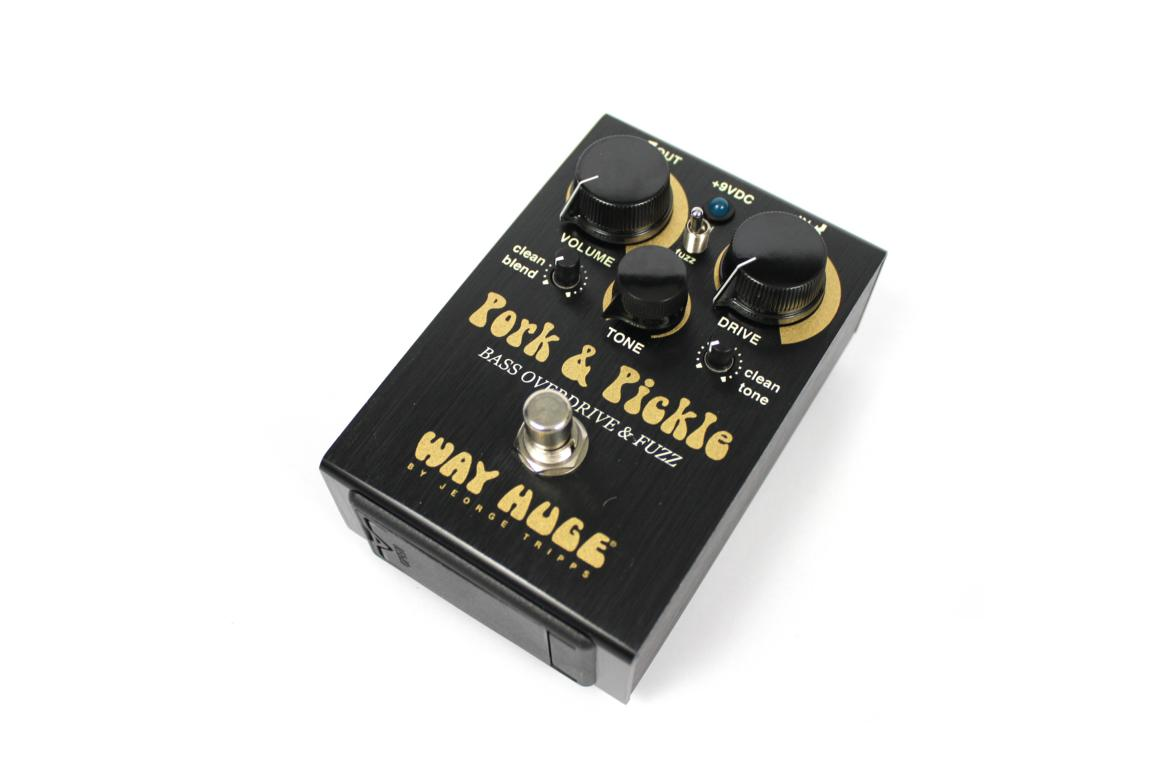 Way Huge Pork & Pickle Bass Overdrive / Fuzz