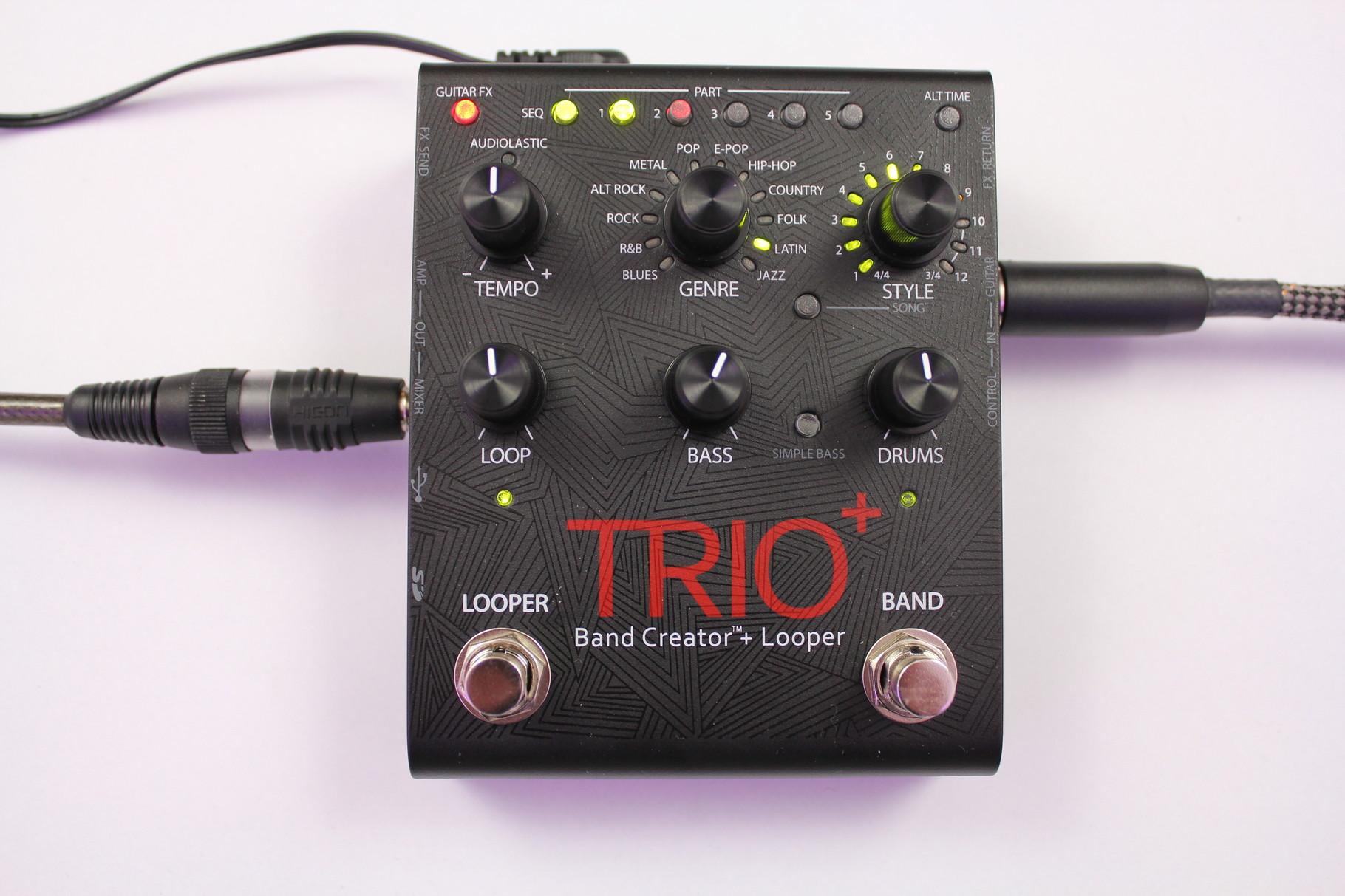 Digitech Trio+ Bandcreator with Looper