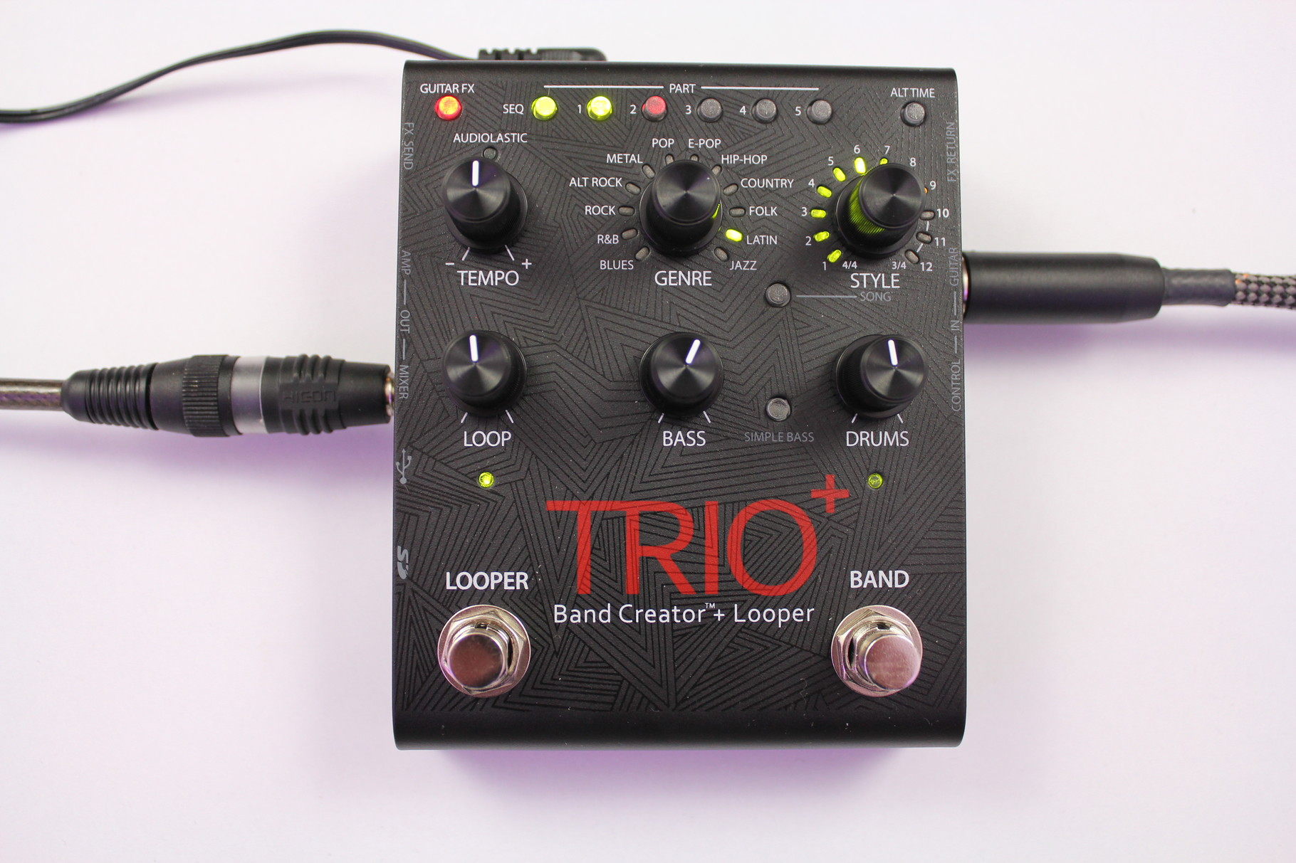 Digitech Trio+ Bandcreator with Looper