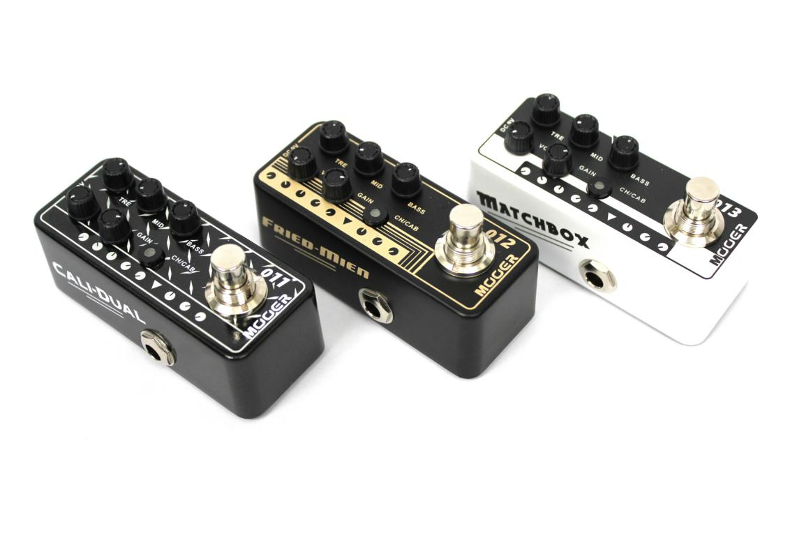 Mooer Micro Preamp 011, 012, 013