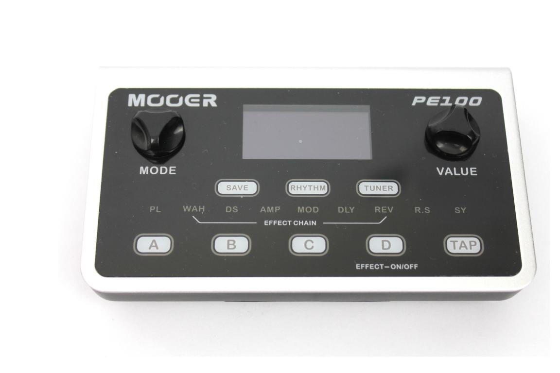 Mooer PE100 Partable Guitar Effects