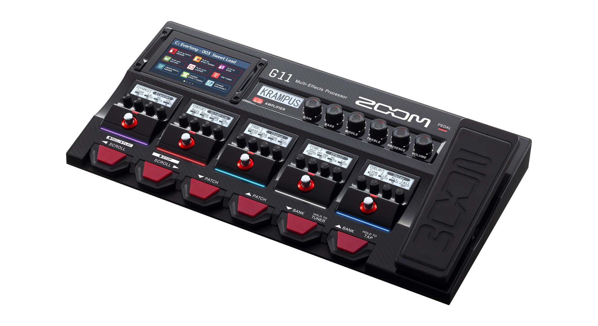 Zoom G11 Multieffektgerät für Gitarre