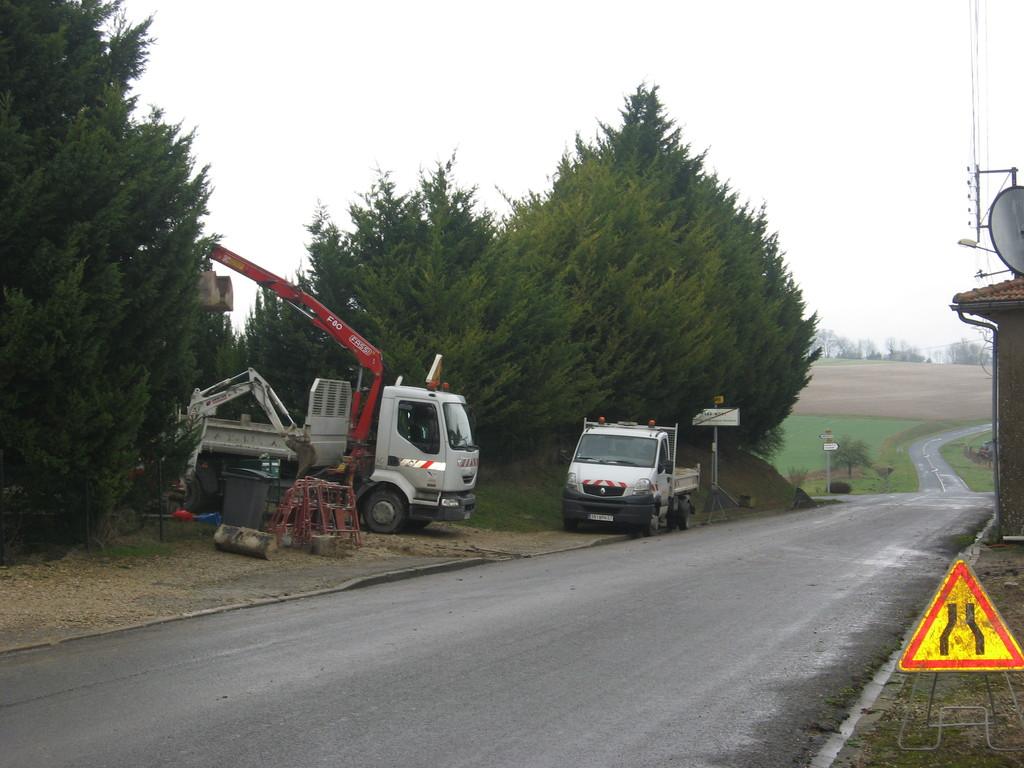 10/01/2012 Veolia nous installe le compteur d'eau