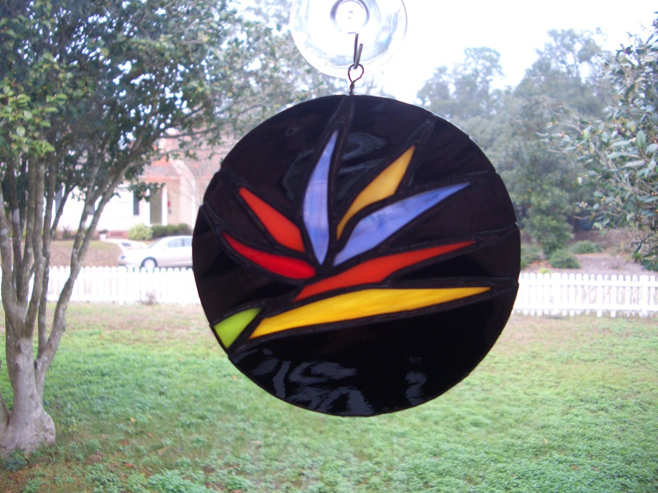 Bird of Paradise Suncatcher