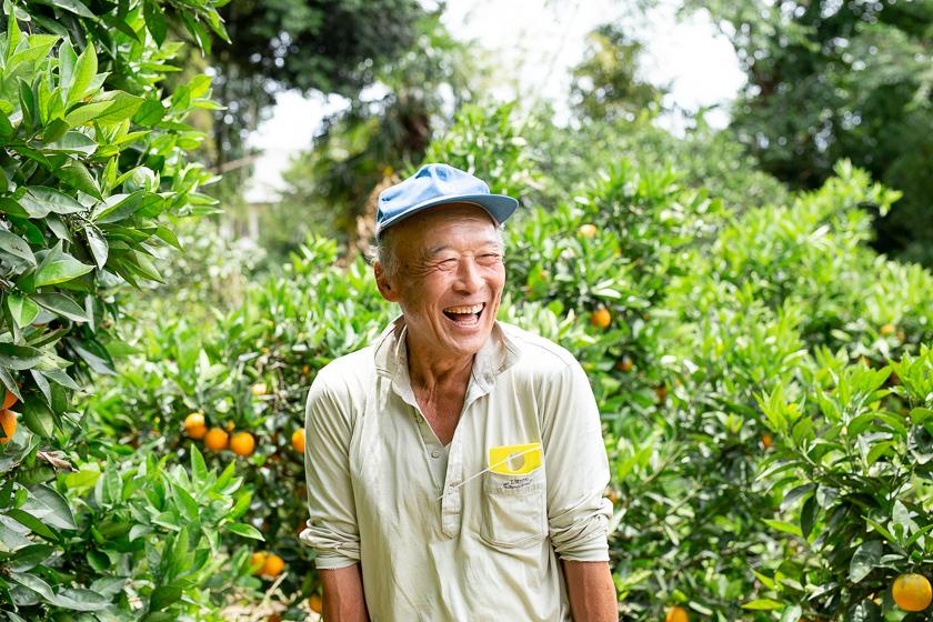 希少な国産バレンシアオレンジ、石井さんの笑顔と一緒にお届け!