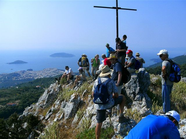 Karaflitzanaka...mountain top of Skiathos