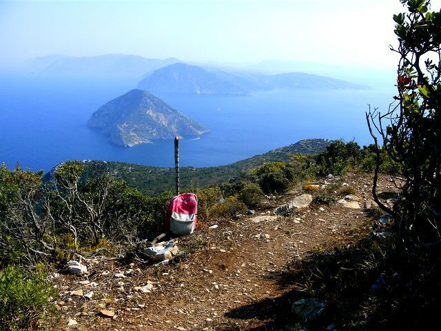 Hiking on Skopelos