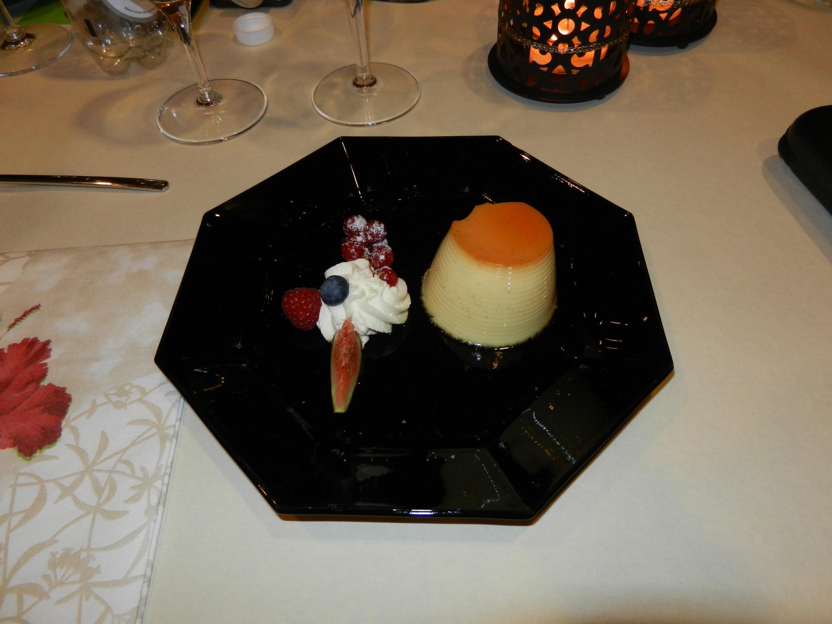 Nach so viel Aufregung gibt es ein leckeres Dessert.