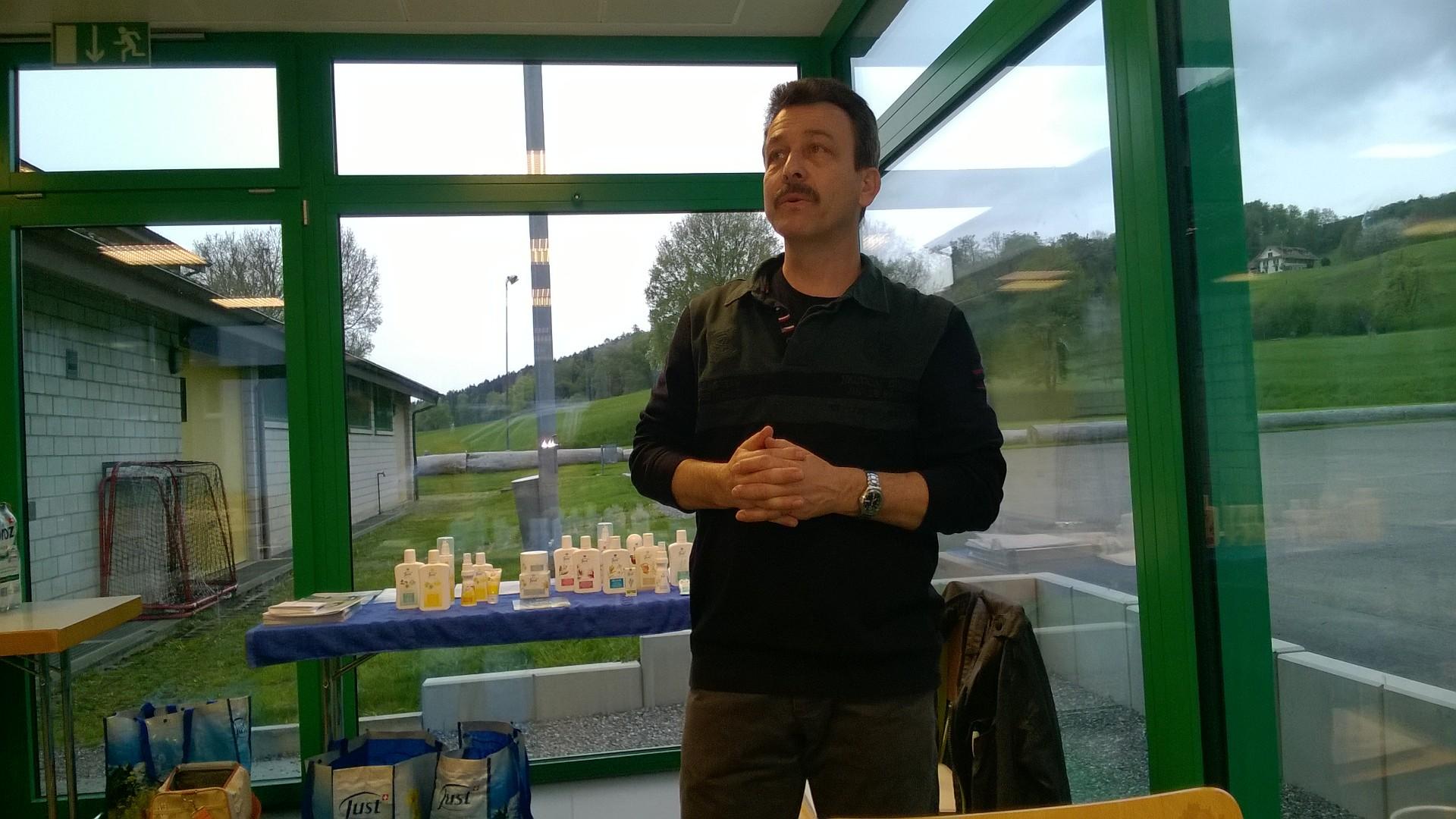 Urs Byland erzählt die Geschichte von Just...