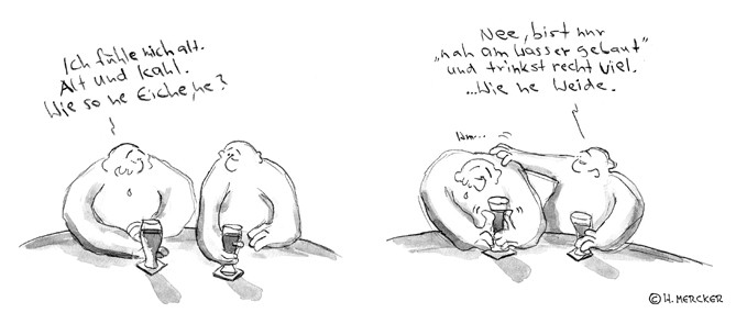 """Comic Tagträumer Nr. 02 """"Eiche und Weide"""""""