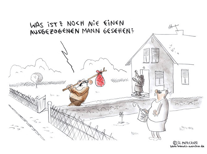 "Cartoon ""Ehestreit"""