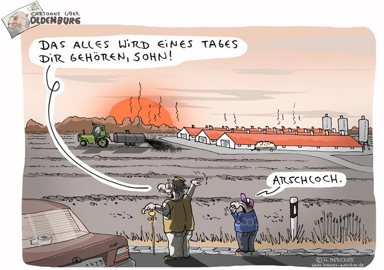 Cartoons über Oldenburg 7: Eines Tages