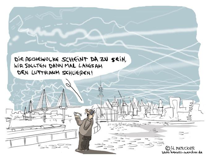 "Cartoon ""Entscheidung"""