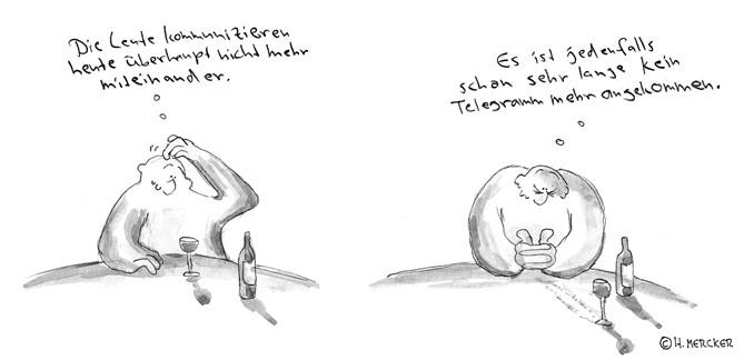 "Comic Tagträumer Nr. 04 ""Kein Telegramm"""