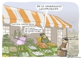 Auf dem Gemüsemarkt