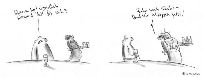 "Comic Tagträumer Nr. 29 ""Schluss"""