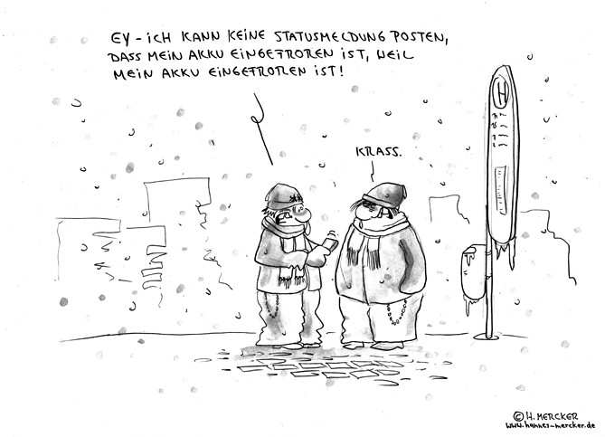 "Cartoon ""i-Ngefroren"""