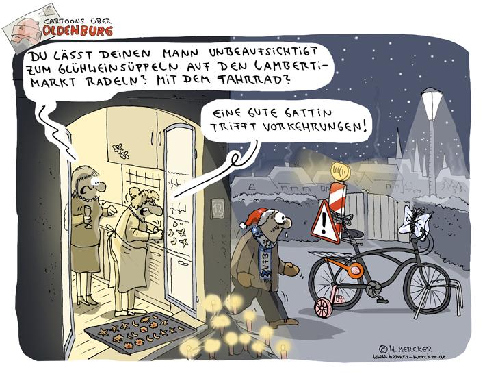 Cartoons über Oldenburg 2: Viel Geiler