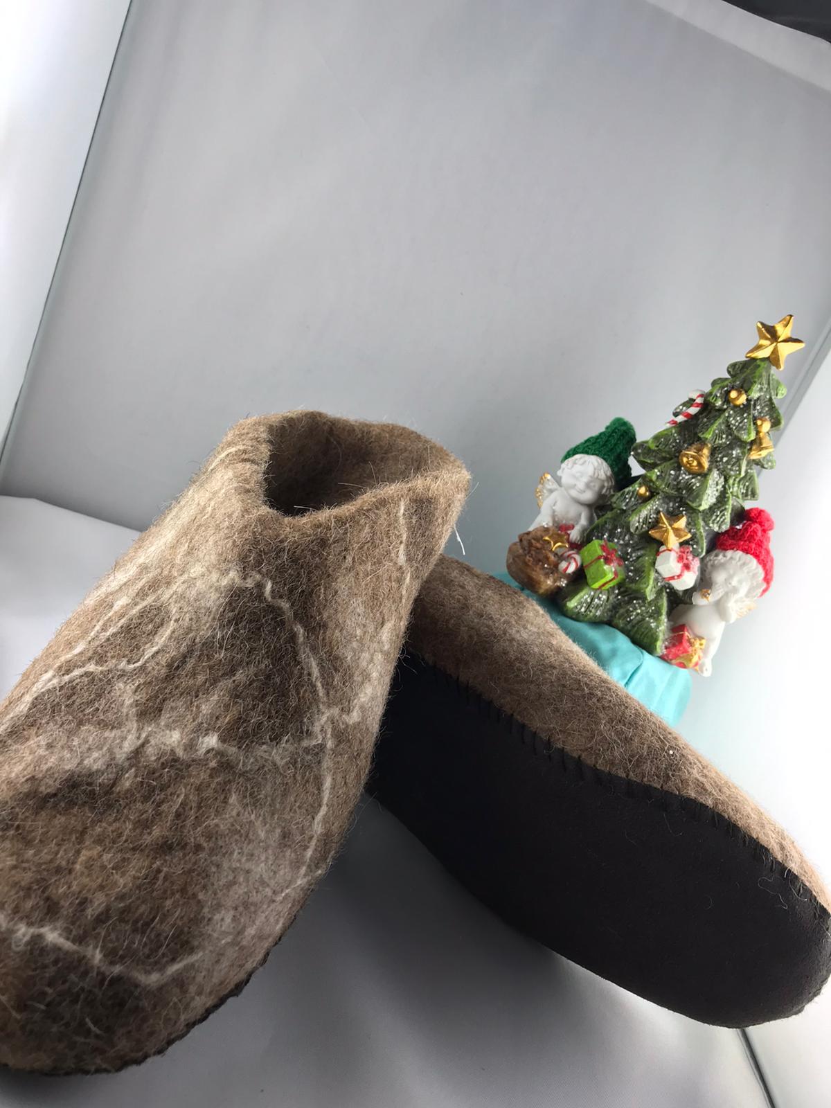 Lama Pantoffeln