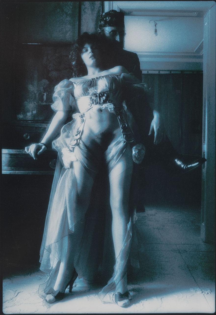 Ernst Fuchs und Carline, 1977
