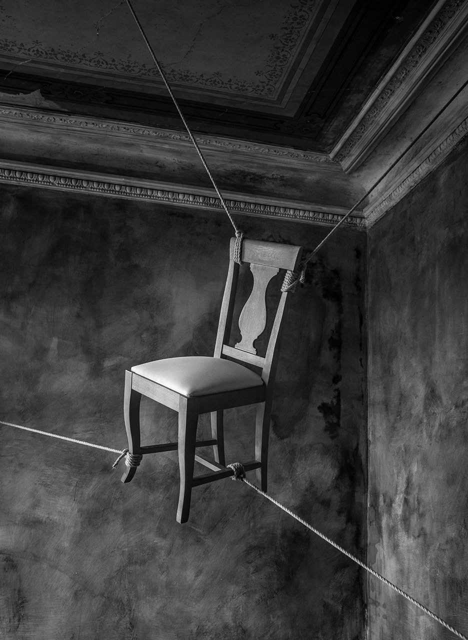 Der gefesselte Stuhl, 1994