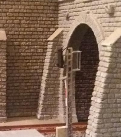 Tunnelinnenwand Tunnel Innenwand Spur N Ausdrucken Tunnelinnenwände Innenwände