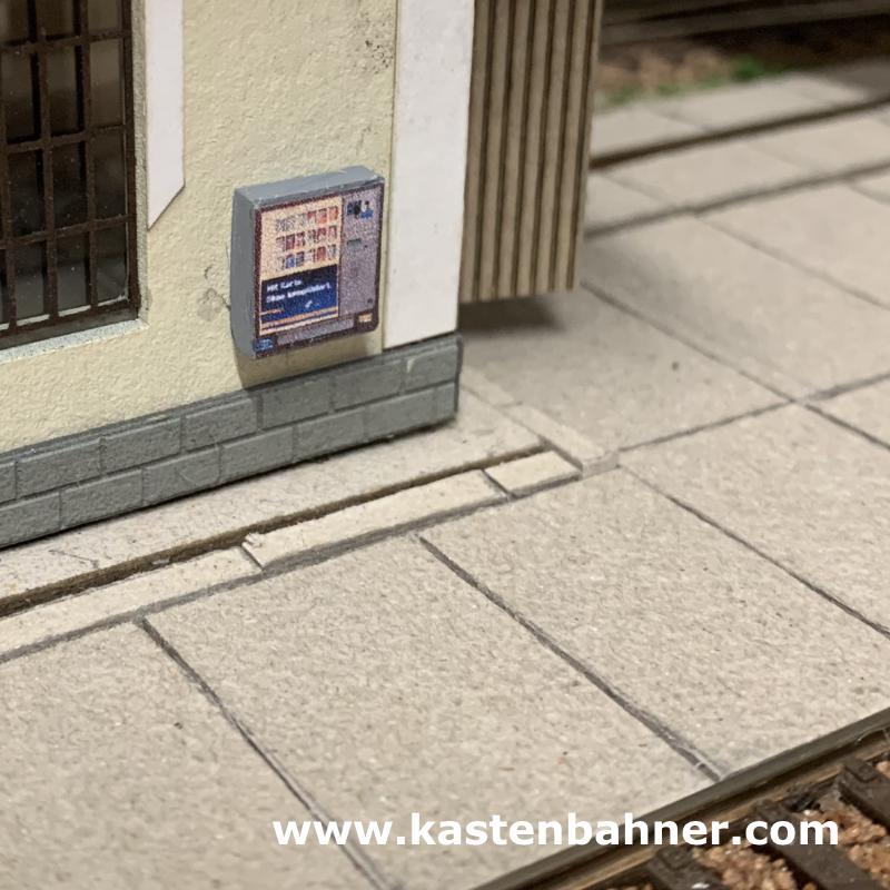 Zubehör Spur H0 1:87 Zigarettenautomat