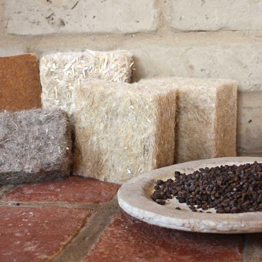 Wohngesunde Dämmstoffe aus Hanf und Kork für den Hausbau